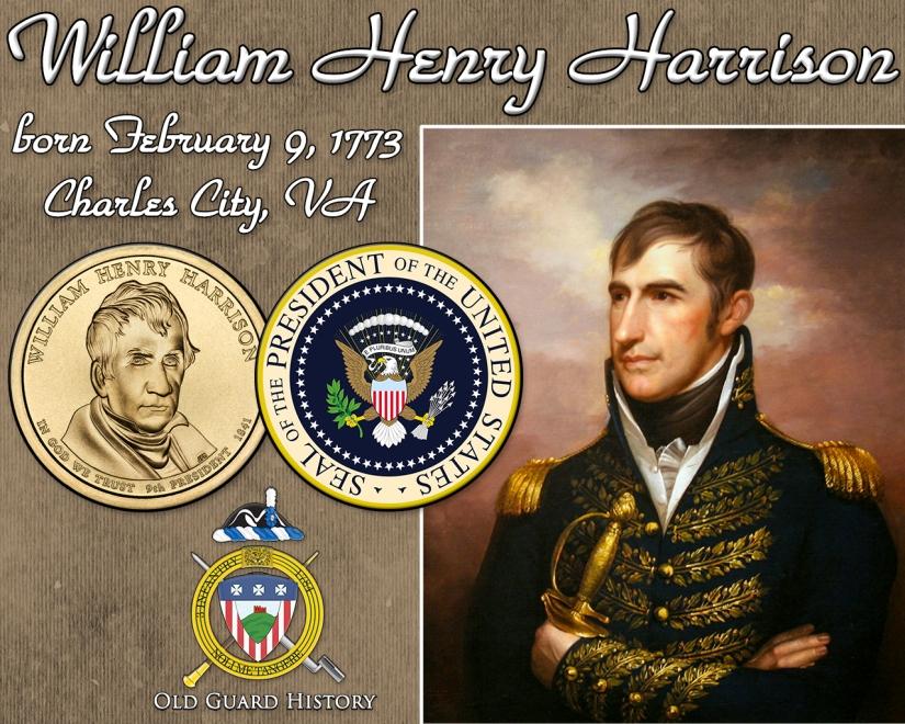 02-09-William Henry Harrison born