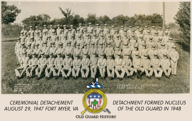 1947-08-29-Ceremonial Detachment