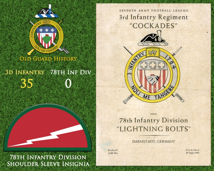 09-29-Football vs. 78th Infantry Division