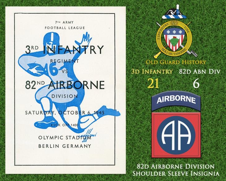 10-06-Football vs. 82d Airborne Division