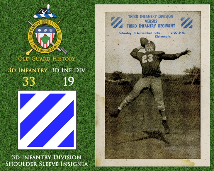 11-03-Football vs. 3d Infantry Division
